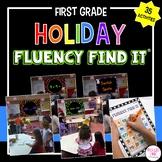 Holiday Fluency Find It BUNDLE (1st Grade)