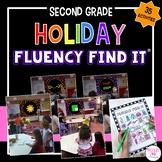 Holiday Fluency Find It® BUNDLE (2nd Grade)