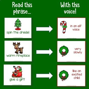 Holiday Fluency Practice