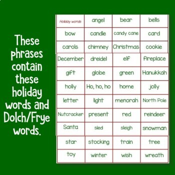 Holiday Fluency Practice