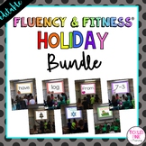 Holiday Fluency & Fitness® Brain Breaks (EDITABLE)
