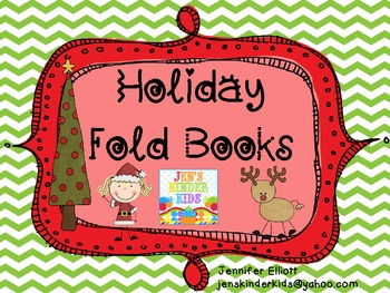 Holiday Fold Books