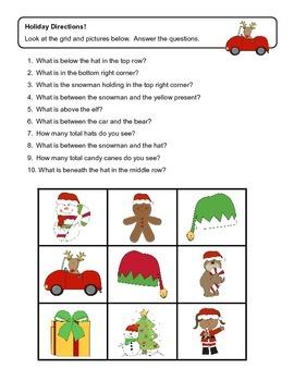 Holiday Following Directions: Fa, La, La, La, La ~ Merry Christmas!