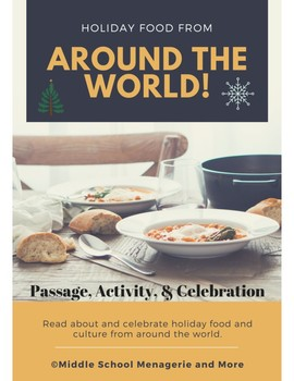 Holiday Food From Around the World: Reading, Activity, & Celebration