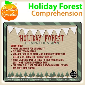 Holiday Forest Comprehension