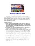 Holiday Fraction Talks