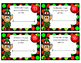 Holiday Fraction Task Cards/scoot game