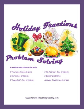 Holiday Fractions Problem Solving