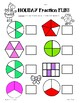 Holiday Fractions Worksheets - Naming Unit and Non-Unit Fractions