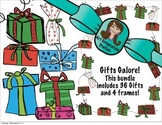 Holiday Frames & Clip Art! Gifts Galore