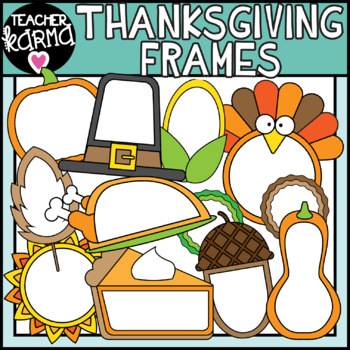 Holiday Frames Clipart: GROWING BUNDLE