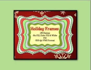 Holiday Frames - North Pole Collection