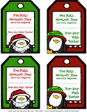 Holiday Free Homework Passes