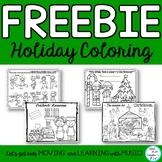 FREEBIE: Holiday Coloring Sheets for Kwaanza, Christmas, Nutcracker and Hanukkah