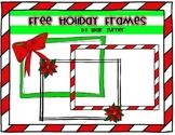 3 Holiday Frames!