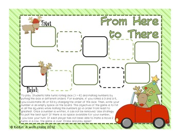 Place Value Game (Freebie)
