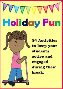 Holiday Fun - 84 Challenges {Includes Reading Log and Activities}