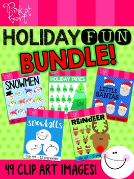Holiday Fun Clip Art BUNDLE