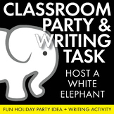 Holiday Fun! FREE White Elephant Party and Real-Life Writing Instruction Lesson