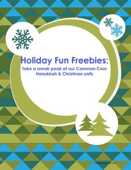 Holiday Fun Freebies