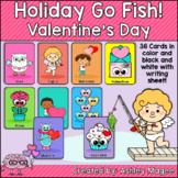 Holiday Fun Go Fish Game - Valentine's Day Themed Game