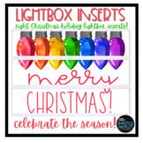 Lightbox Inserts - Holiday Cheer