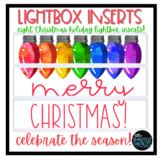 Lightbox Inserts - Holiday Cheer