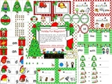 Holiday Fun Mega Unit for Kindergarten Math and Literacy
