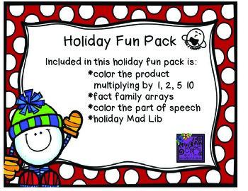 Holiday Fun Packet