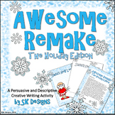 Holiday Fun Persuasive and Descriptive Creative Writing Project Santa Makeover