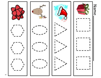 Holiday Fun Sheets for Pre-k to Kindergarten