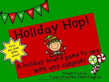 Holiday Game Board Freebie