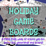 Holiday Game Boards