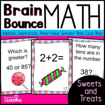 Math Game with Addition,Subtraction and Place Value