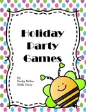 Holiday Games for Classroom Parties