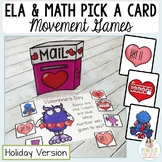 Holiday Games for ELA and Math Practice
