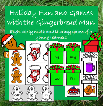 Holiday Games with the Gingerbread Man