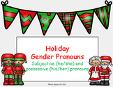 Holiday Gender Pronouns