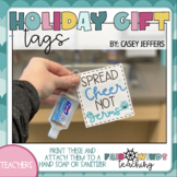 Back to the Classroom Germ Gift Tags