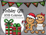 Holiday Gift-2018 Calendar