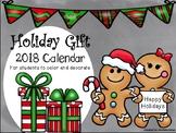 Holiday Gift-2018 Calendar