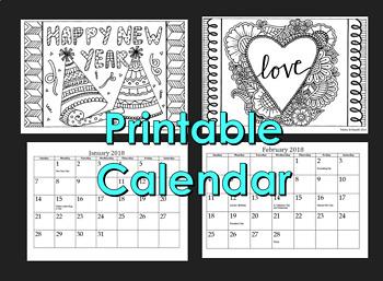 Holiday Gift Craft Activity- 2018 Calendar Volume 2