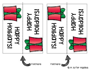 Holiday Gift Bag Tags {FREEBIE}
