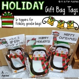 Holiday Gift Bag Tags {FREEBIE}