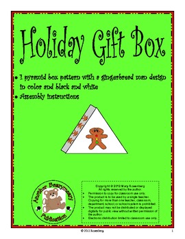 Holiday Gift Boxes sampler