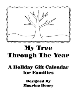 Holiday Gift Calendar - 2017