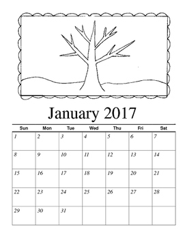Holiday Gift Calendar - 2017