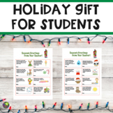 Holiday Gift For Students
