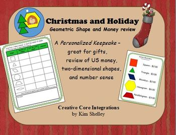 Holiday Gift Geometry and Money Math Review