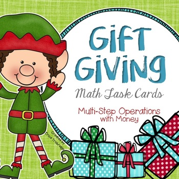 Winter Holiday Gift Giving {Multi-Step Operations with Money}